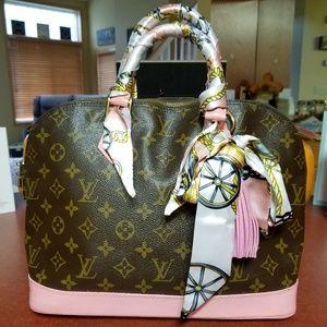 100% Authentic Louis Vuitton Alma PM Petal Pink
